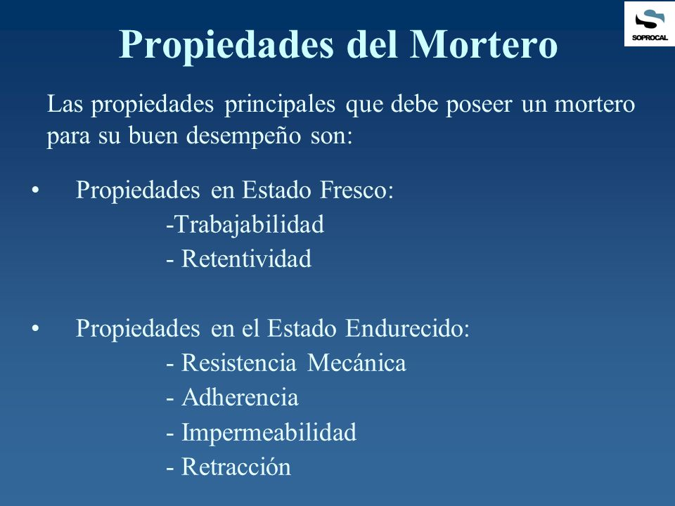 Uso de la cal en morteros ppt video online descargar for Que es un mortero