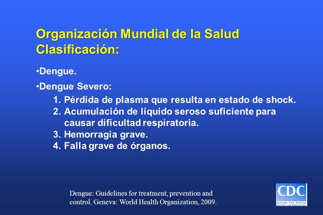 Organización Mundial de la Salud Clasificación: