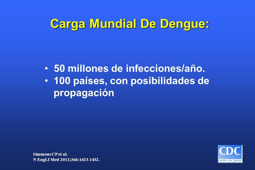 Carga Mundial De Dengue: