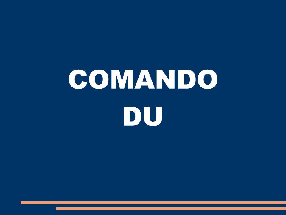 COMANDO DU