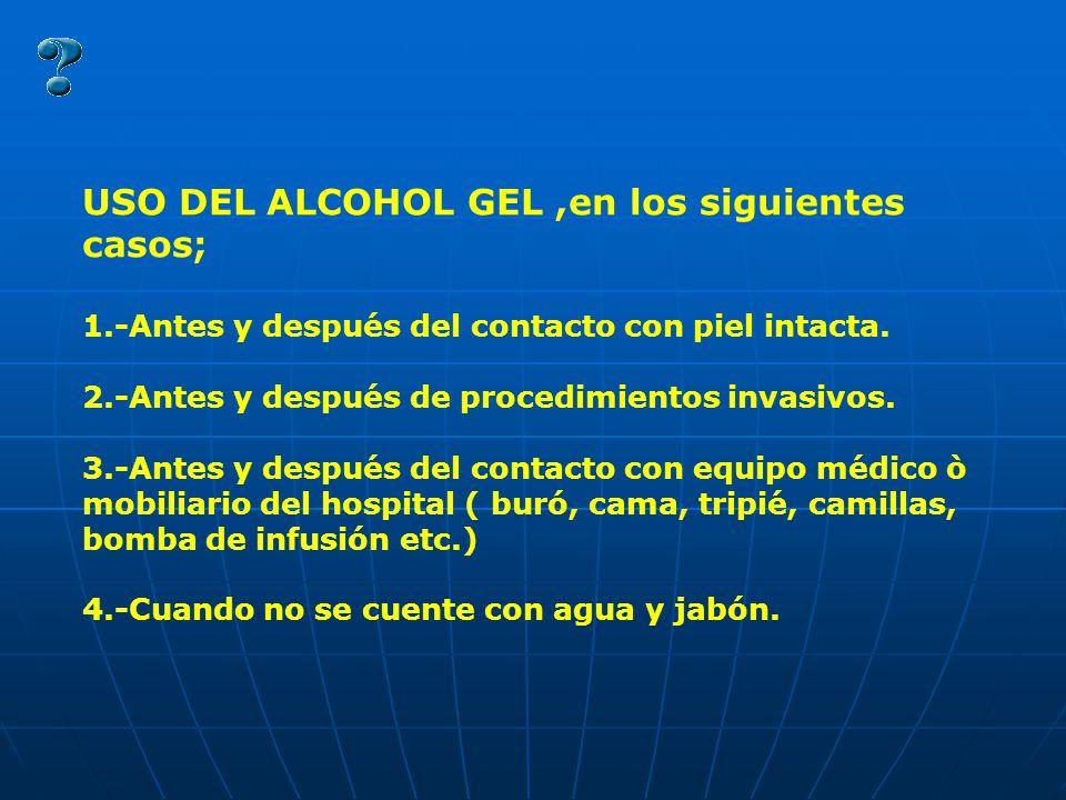 Importancia en la prevenci n de infecciones - Usos del alcohol ...