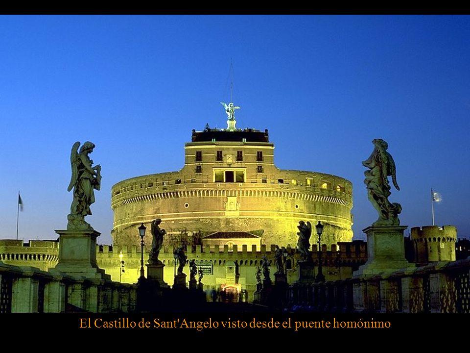 El Castillo de Sant Angelo visto desde el puente homónimo