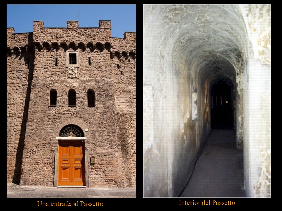 Una entrada al Passetto