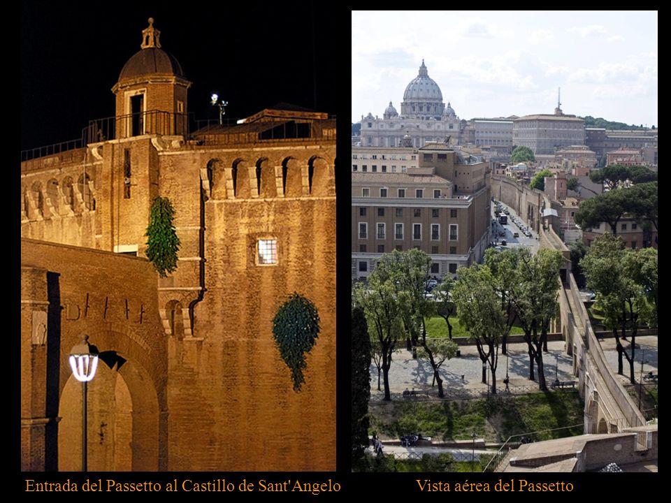 Entrada del Passetto al Castillo de Sant Angelo
