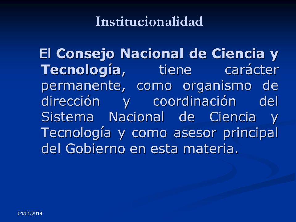 Institucionalidad