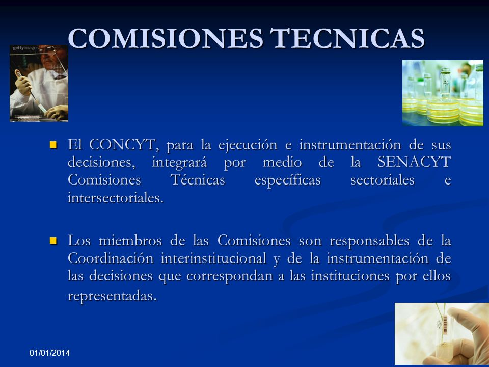 3/23/2017COMISIONES TECNICAS.