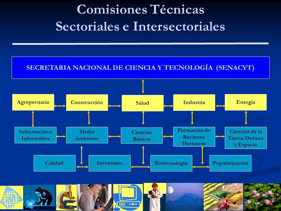Comisiones Técnicas Sectoriales e Intersectoriales