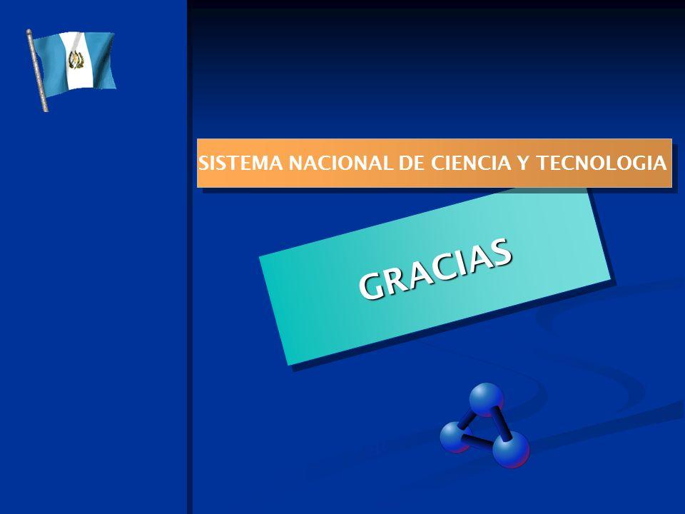 SISTEMA NACIONAL DE CIENCIA Y TECNOLOGIA