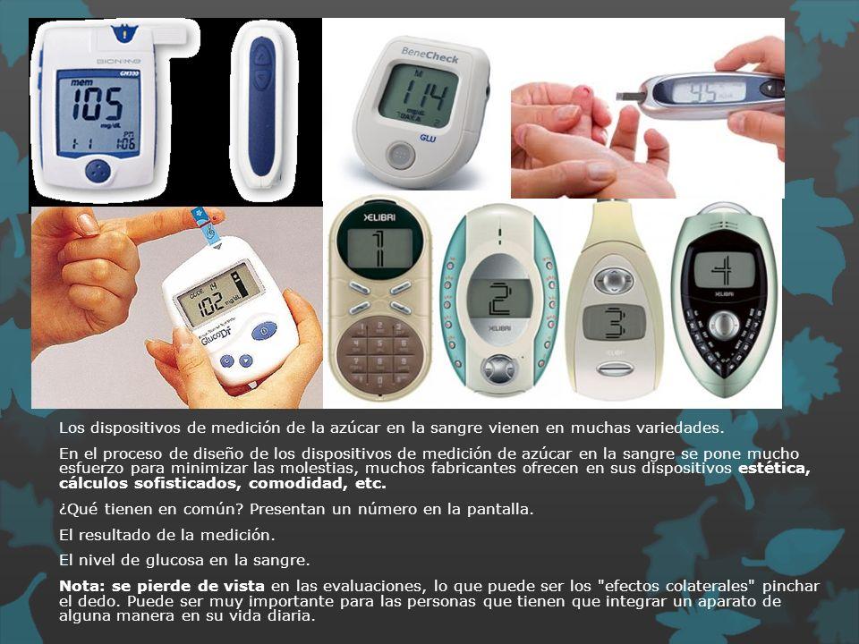 Los dispositivos de medición de la azúcar en la sangre vienen en muchas variedades.