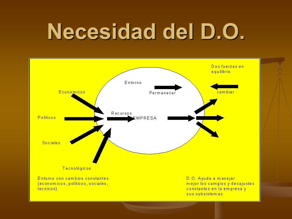 Necesidad del D.O.