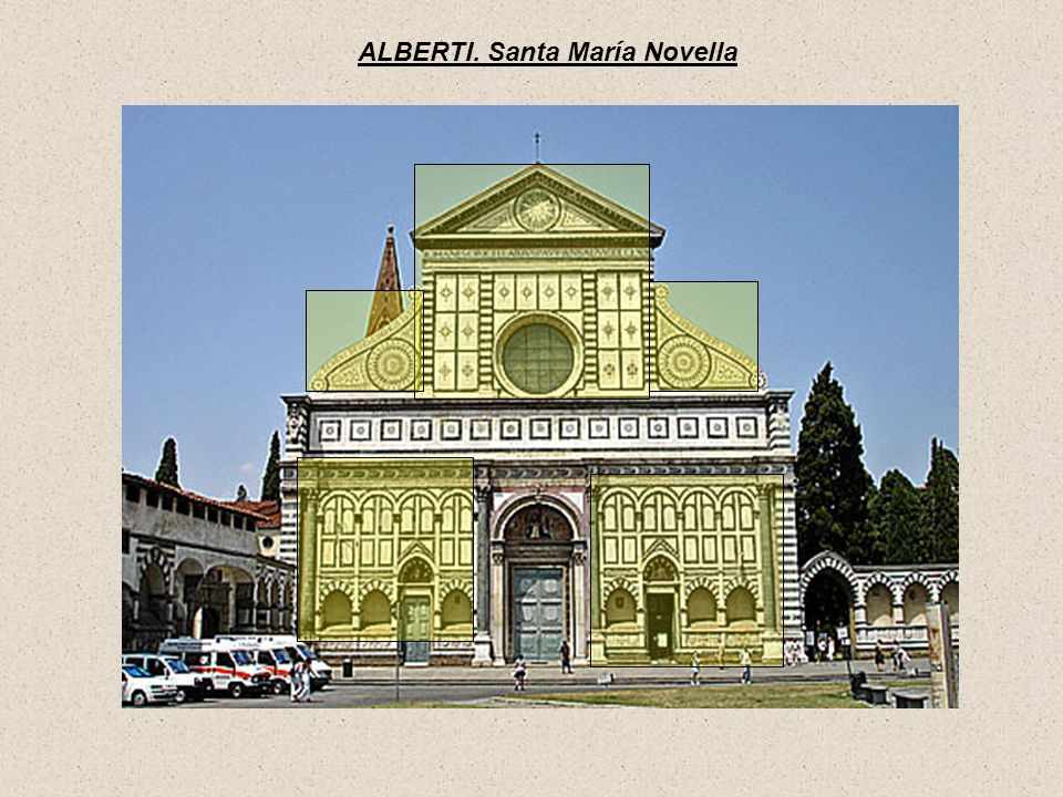 ALBERTI. Santa María Novella