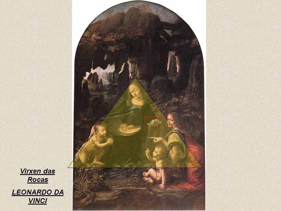Virxen das Rocas LEONARDO DA VINCI