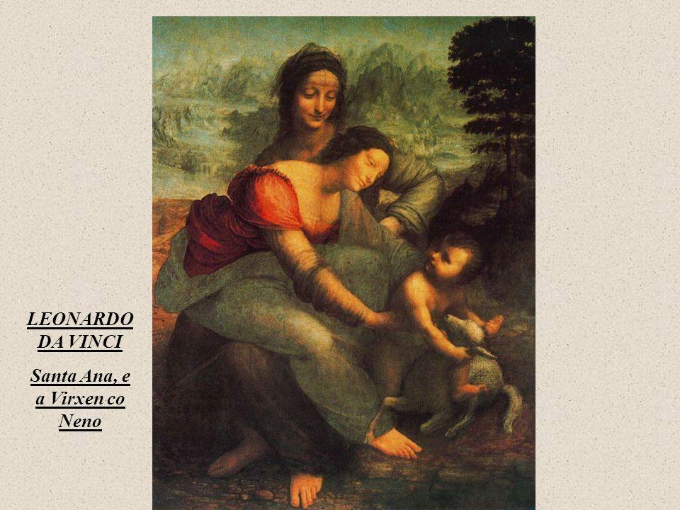 Santa Ana, e a Virxen co Neno