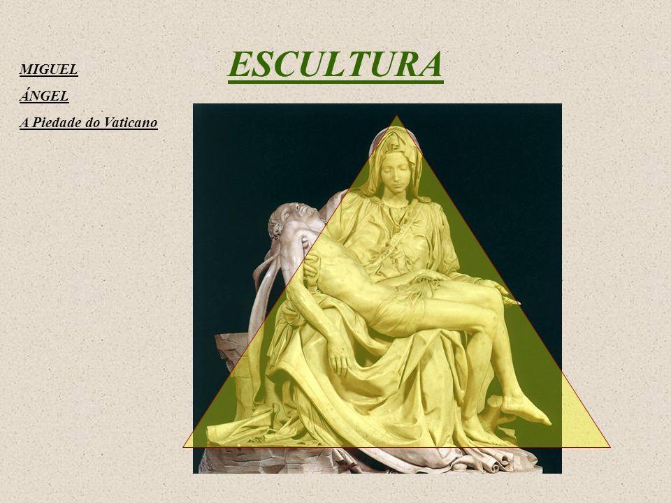 ESCULTURA MIGUEL ÁNGEL A Piedade do Vaticano
