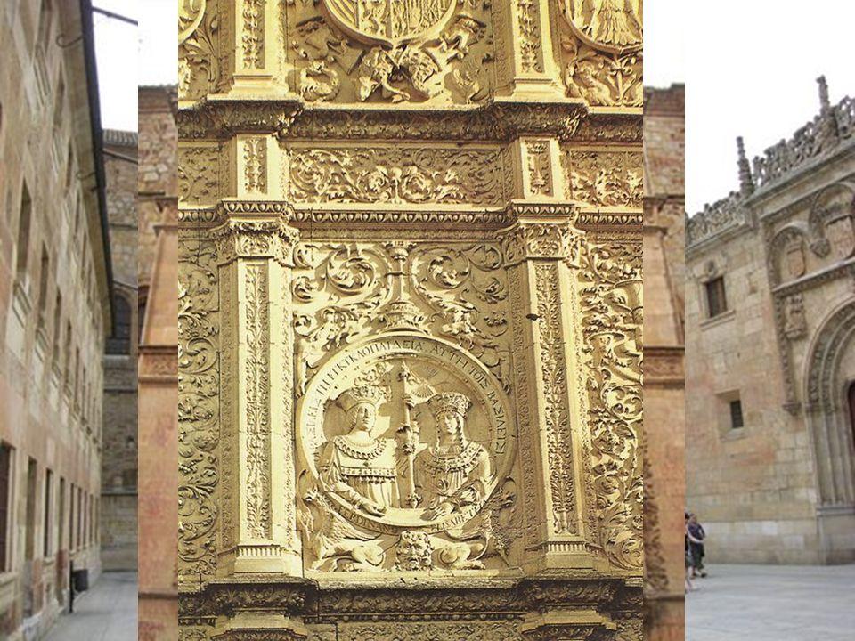 Plateresco Su nombre proviene de la decoración con delicados