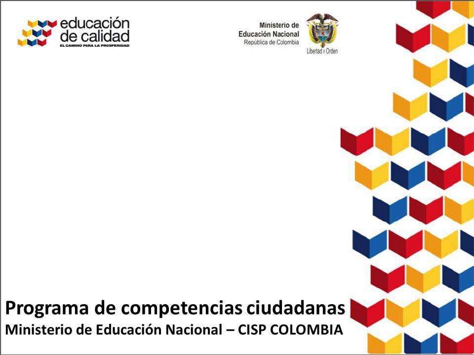 Programa de competencias ciudadanas