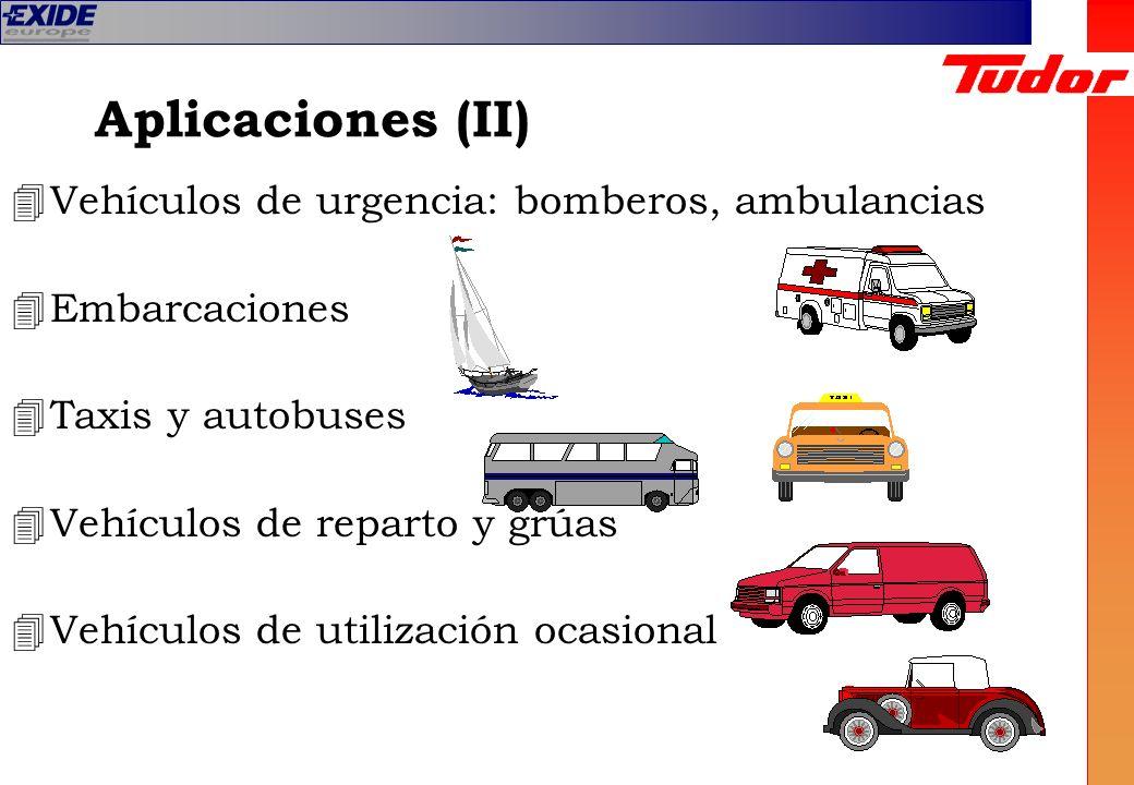 Aplicaciones (II) Vehículos de urgencia: bomberos, ambulancias