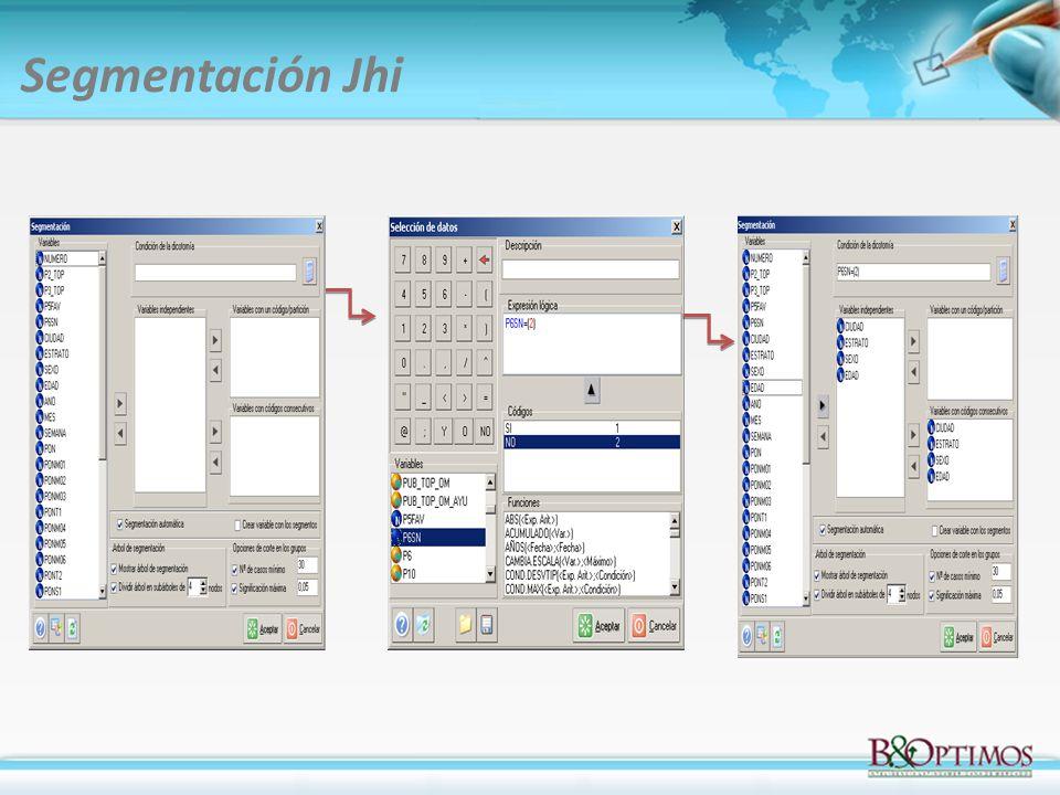 Segmentación Jhi