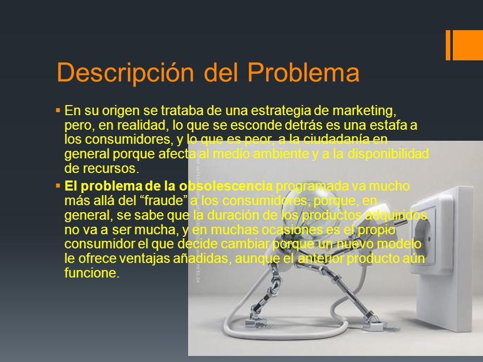 Descripción del Problema