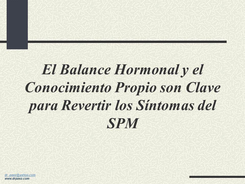 El Balance Hormonal y el Conocimiento Propio son Clave para Revertir los Síntomas del SPM