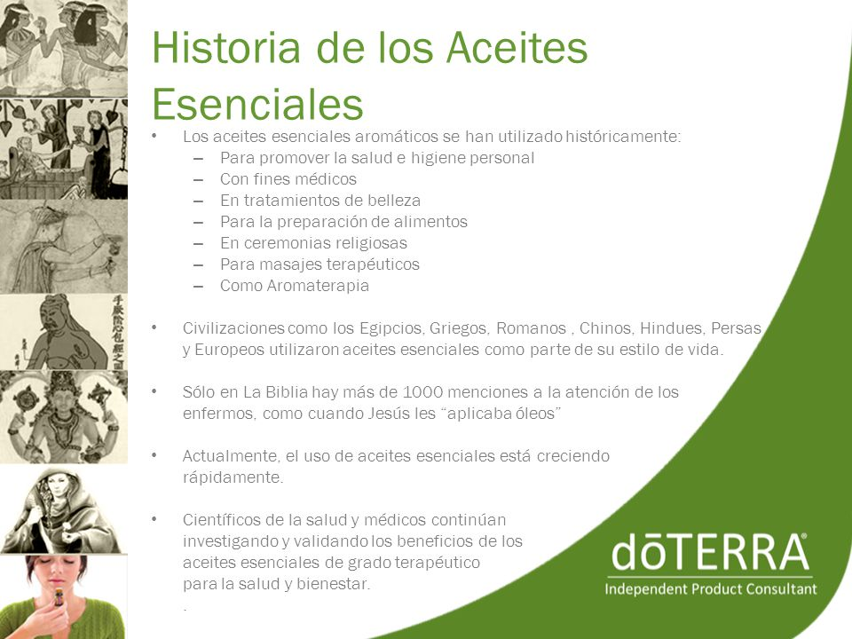 Historia de los Aceites Esenciales