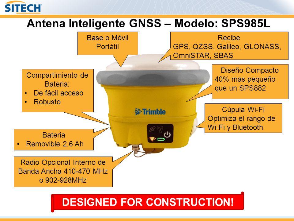 Antena Inteligente GNSS – Modelo: SPS985L
