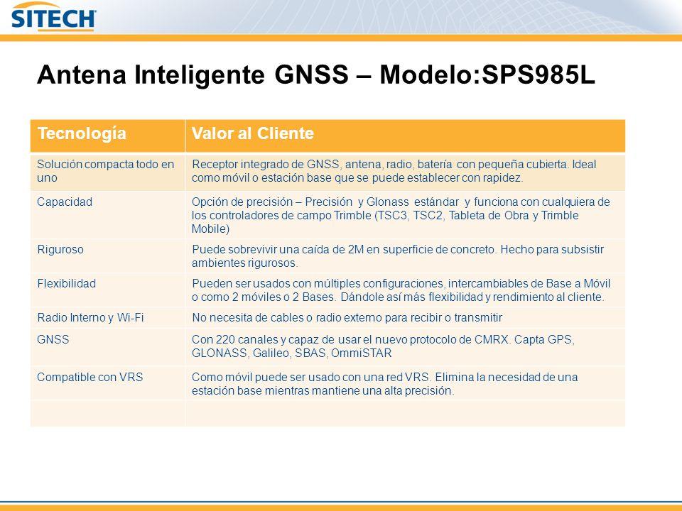 Antena Inteligente GNSS – Modelo:SPS985L