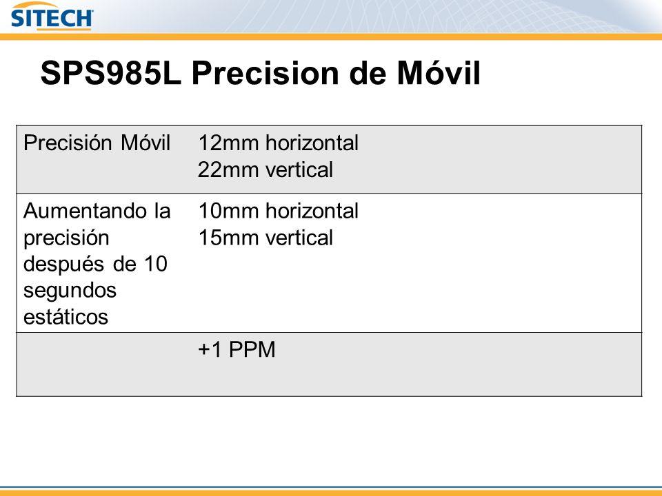 SPS985L Precision de Móvil