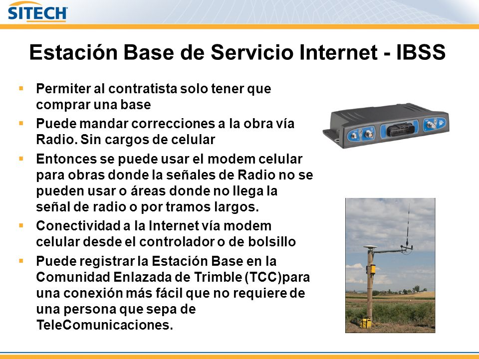 Estación Base de Servicio Internet - IBSS