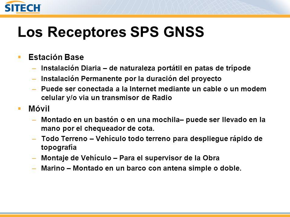 Los Receptores SPS GNSS