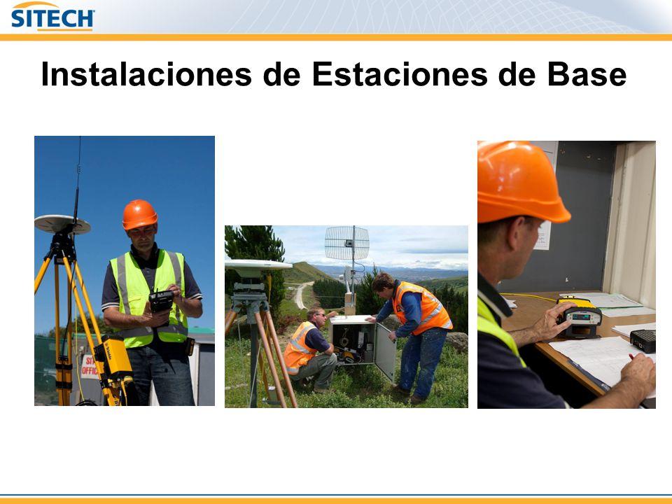 Instalaciones de Estaciones de Base