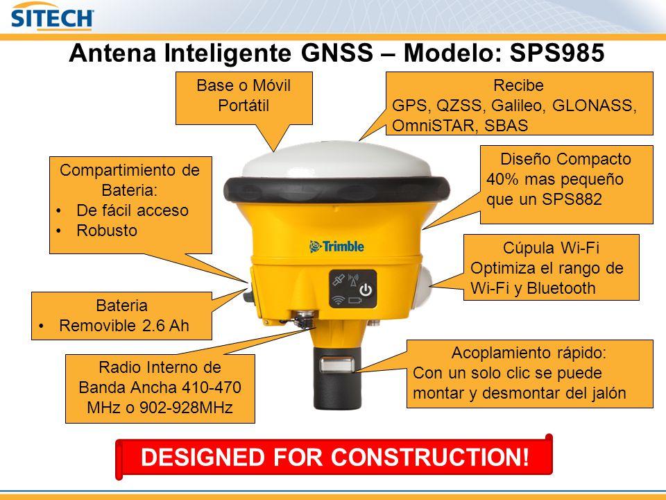 Antena Inteligente GNSS – Modelo: SPS985