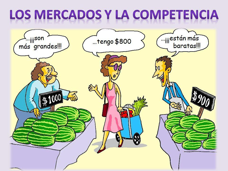 Los mercados y la competencia