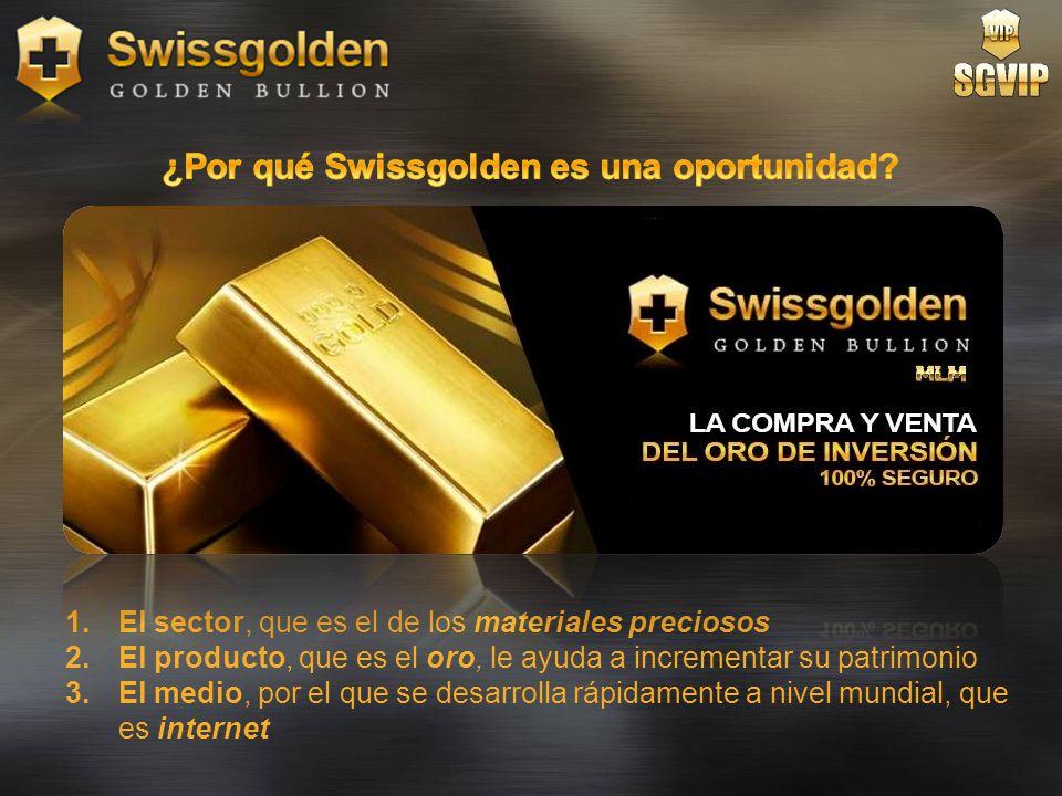 ¿Por qué Swissgolden es una oportunidad
