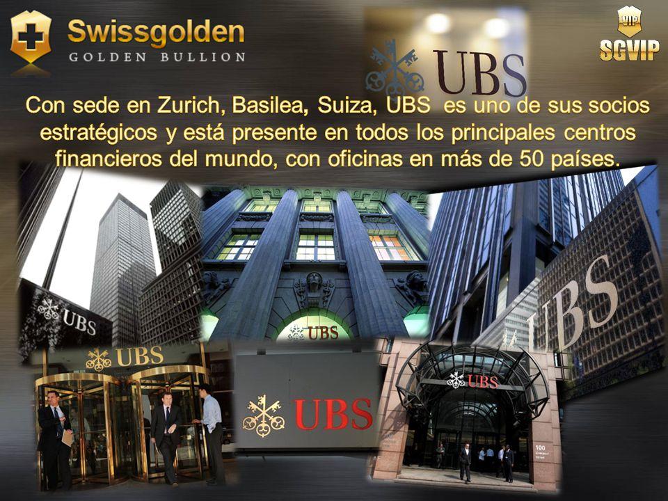Con sede en Zurich, Basilea, Suiza, UBS es uno de sus socios estratégicos y está presente en todos los principales centros financieros del mundo, con oficinas en más de 50 países.