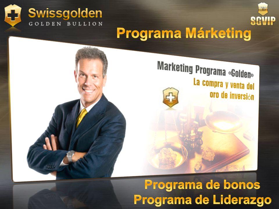 Programa Márketing Programa de bonos Programa de Liderazgo