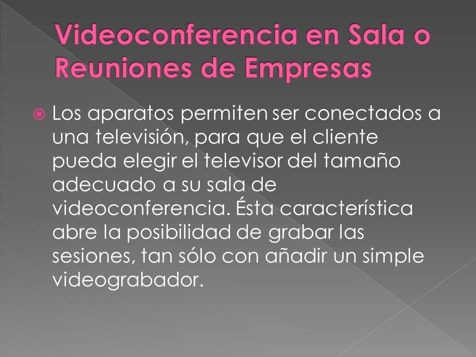 Videoconferencia en Sala o Reuniones de Empresas