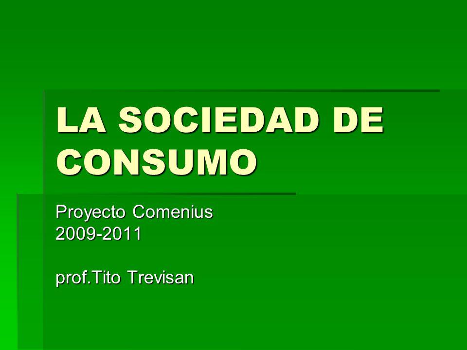 Proyecto Comenius 2009-2011 prof.Tito Trevisan