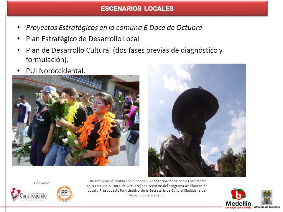 Proyectos Estratégicos en la comuna 6 Doce de Octubre