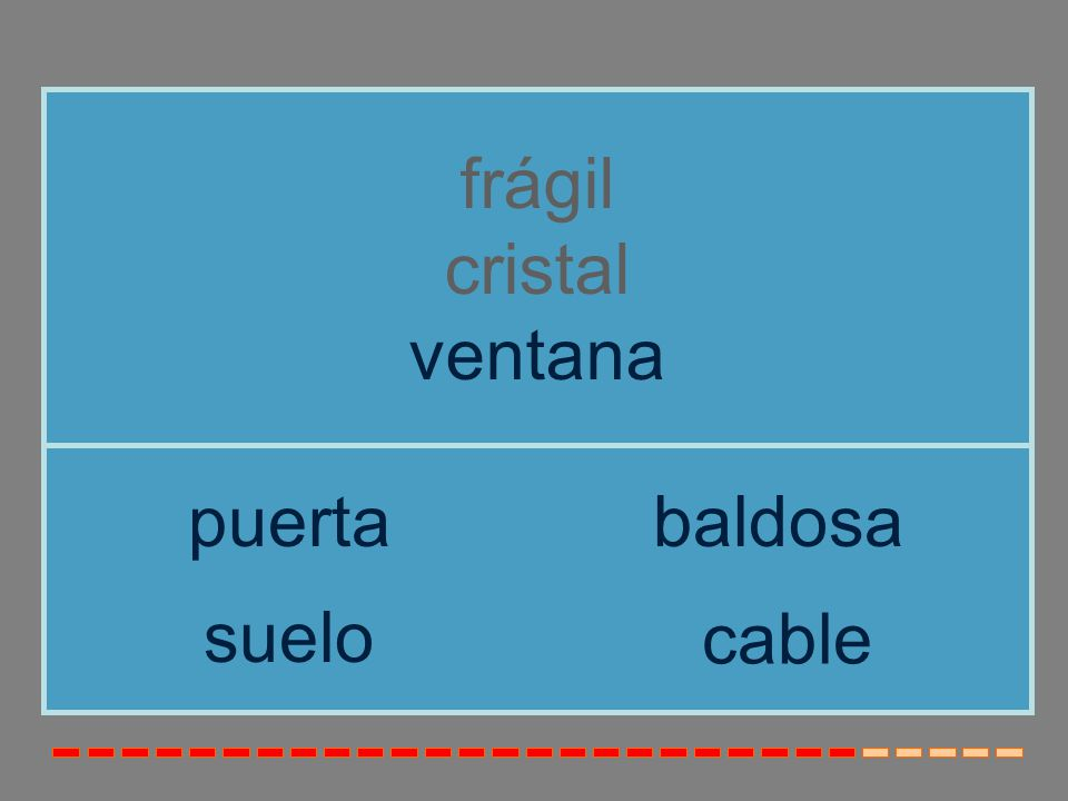 frágil cristal ventana puerta baldosa suelo cable