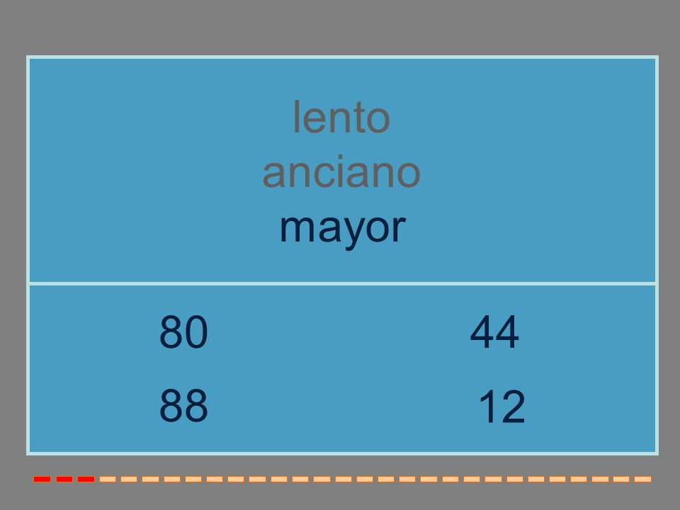 lento anciano mayor 80 44 88 12
