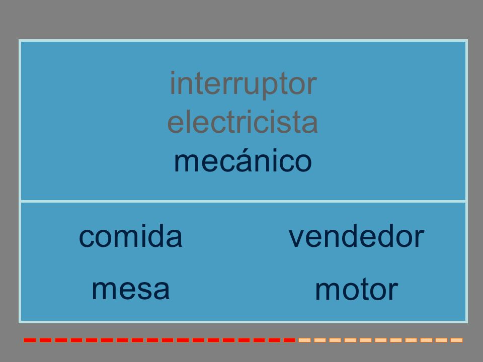 interruptor electricista mecánico comida vendedor mesa motor
