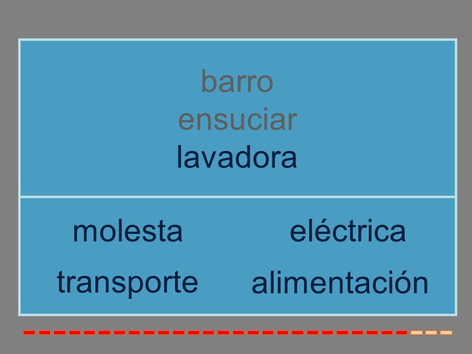 barro ensuciar lavadora molesta eléctrica transporte alimentación