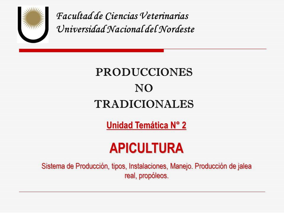 APICULTURA Facultad de Ciencias Veterinarias