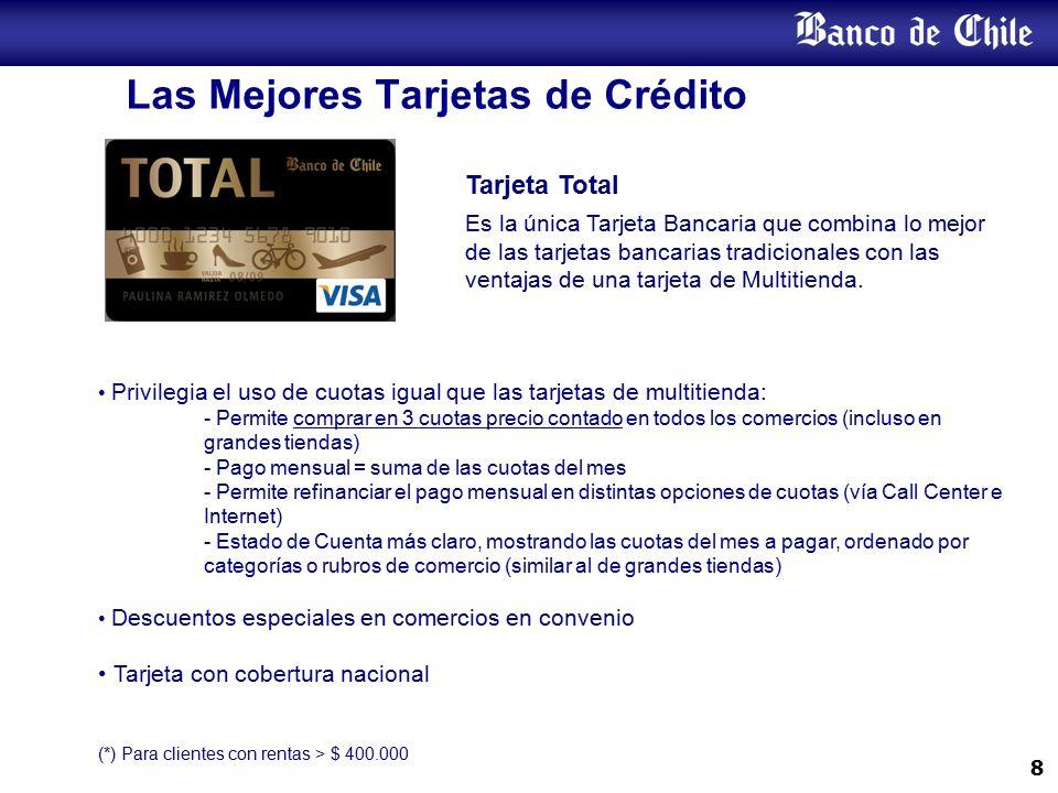 Todos los Meses Tienes Beneficio con Tarjetas de Crédito