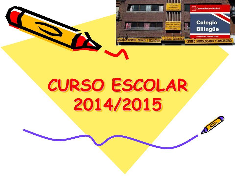 CURSO ESCOLAR 2014/2015