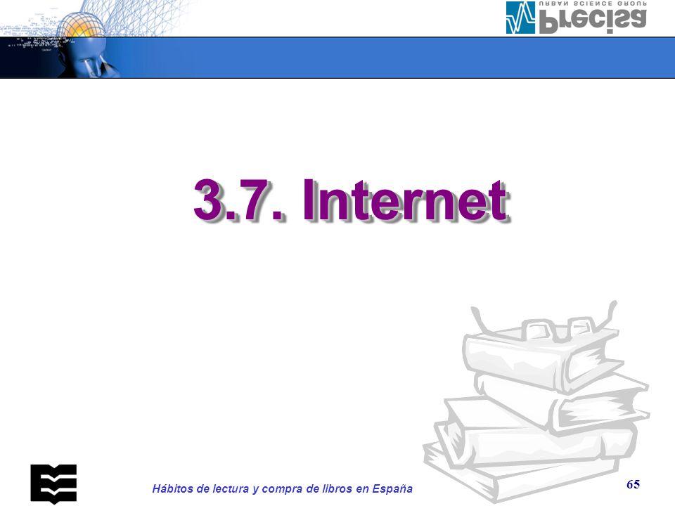 3.7 Utilización de Internet