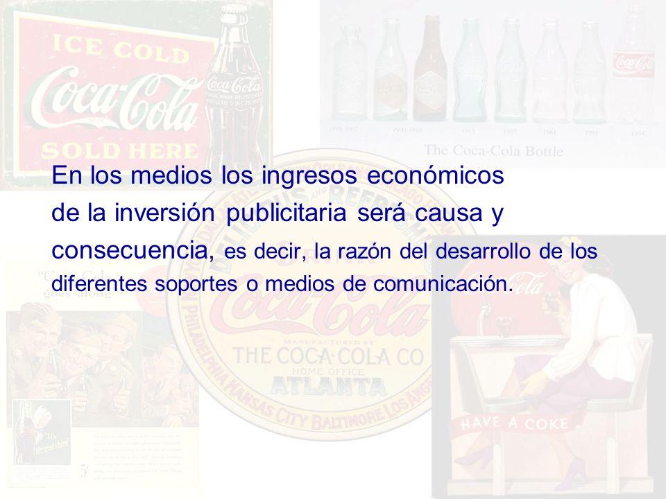 En los medios los ingresos económicos