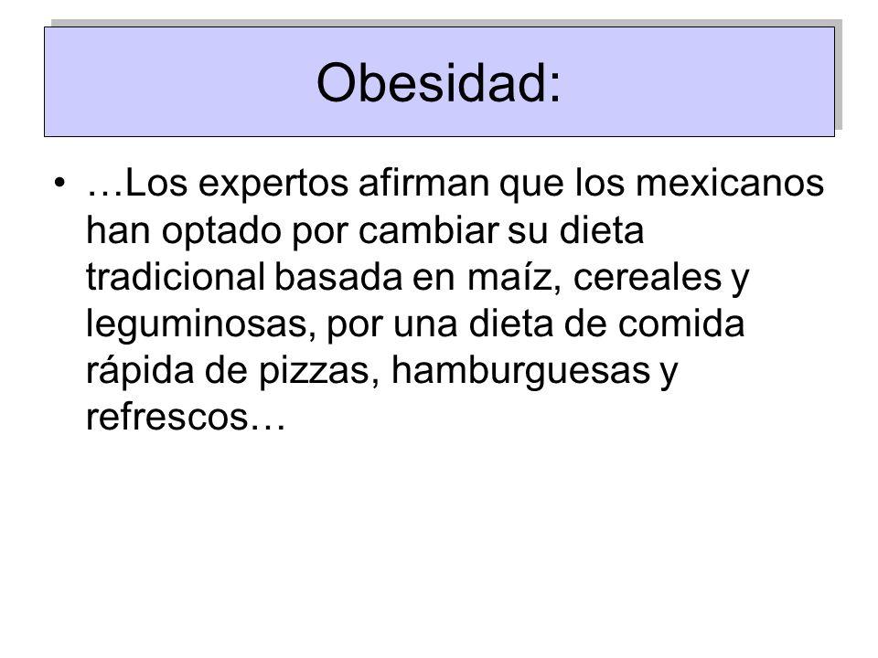 Obesidad: