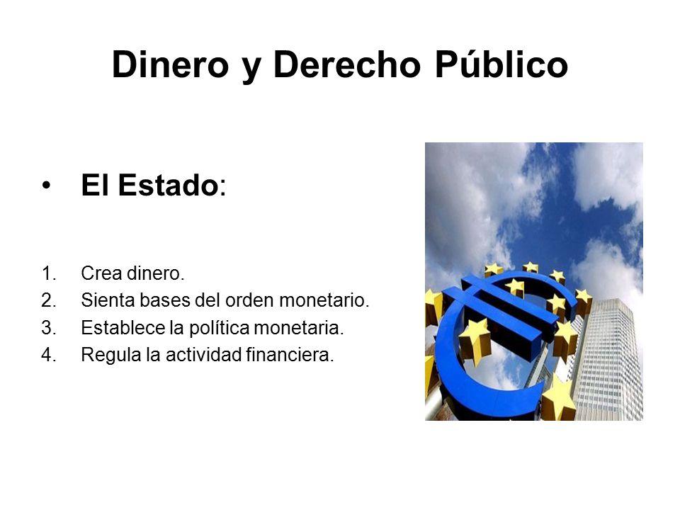 Dinero y Derecho Público